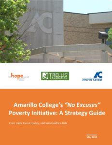 Amarillo College Poverty Strategy Guide Cover Page