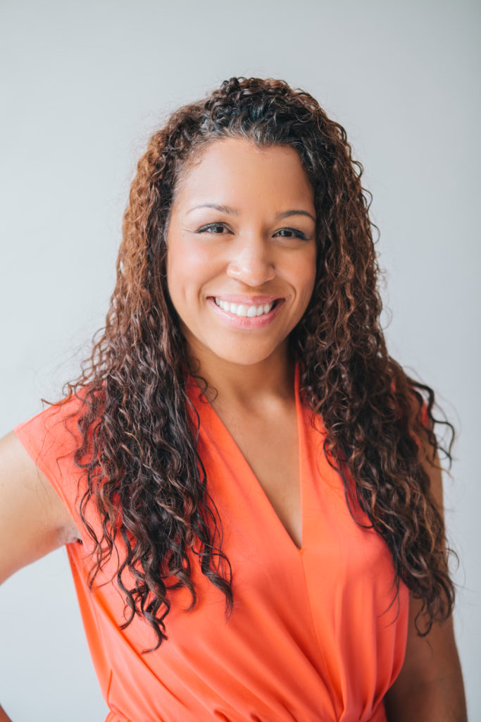 photo of Nicole Lynn Lewis, board member at the Hope Center