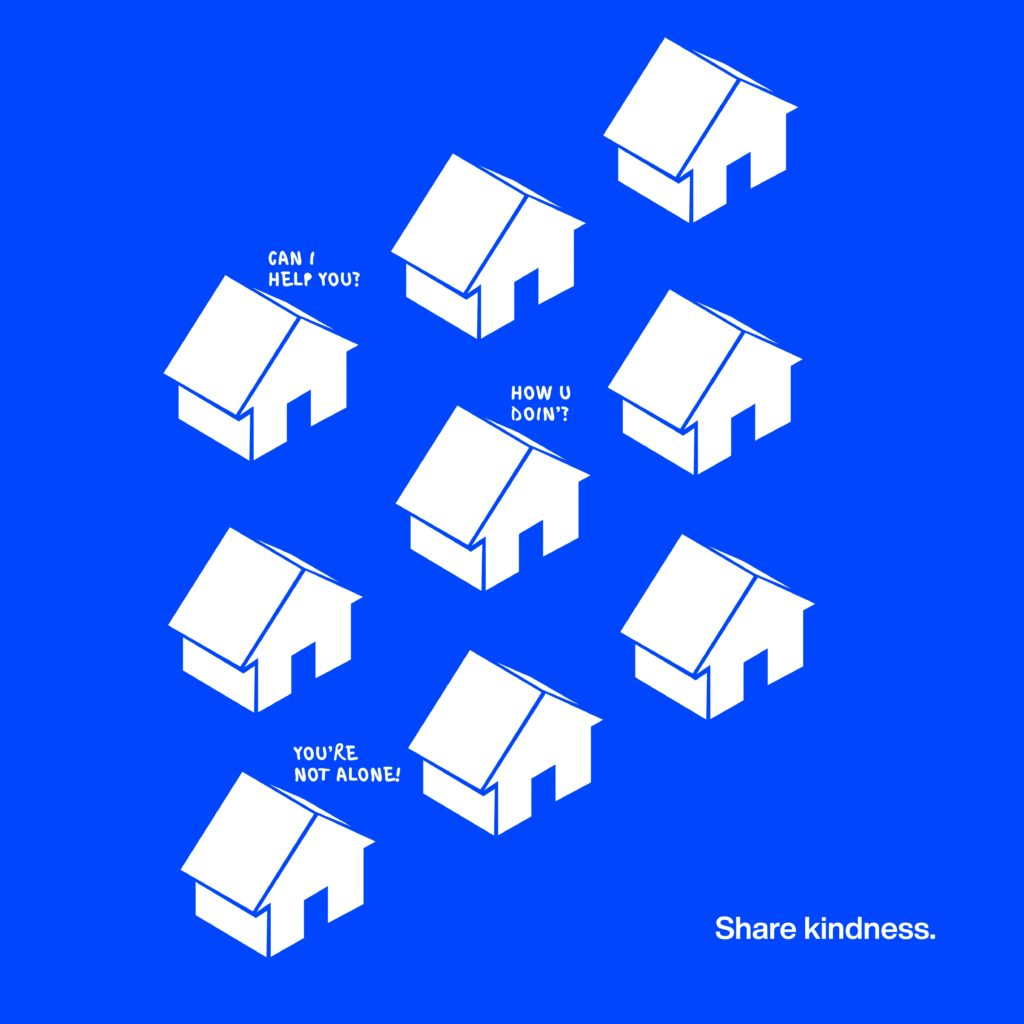 graphic of small houses
