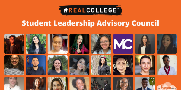 #RealCollege Student Leadership Advisory Council