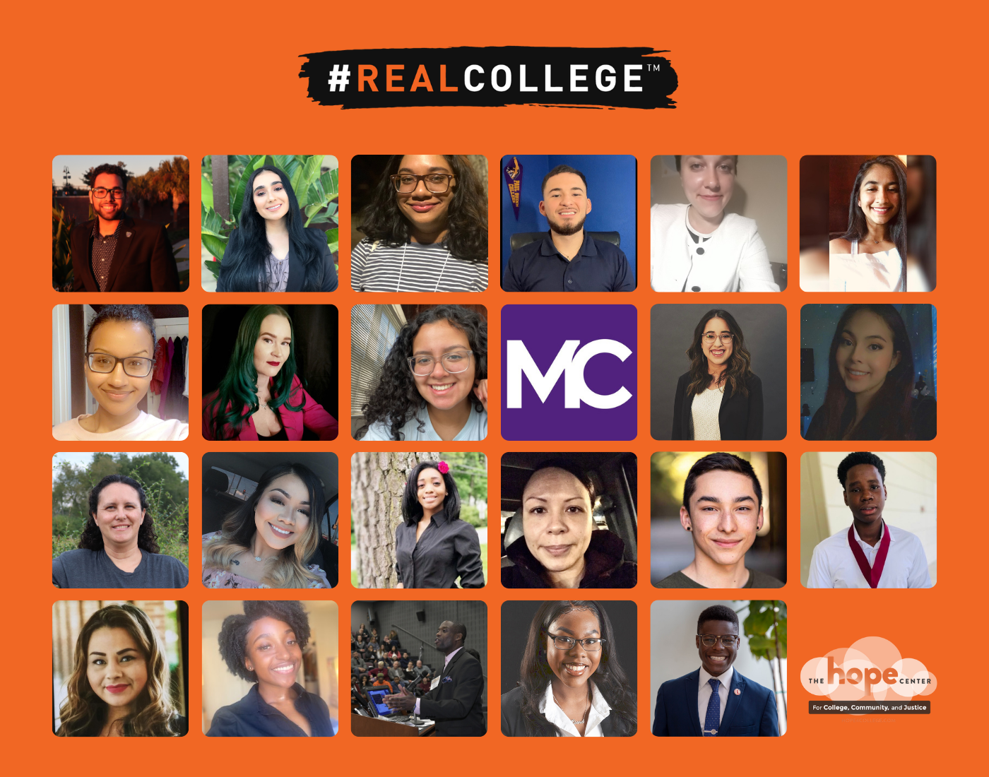 The Hope Center Announces the Inaugural #RealCollege Student Leadership Advisory Council